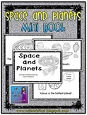 Space and Planets Mini Book