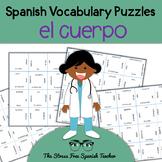 Spanish Body Vocabulary, Magic Squares Puzzle