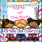 Spanish 1 Partes del Cuerpo - Parts of the Body - Interact