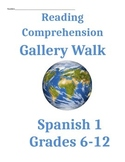 Spanish 1 Reading and Writing Activity Gallery Walk