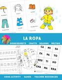 Spanish Summer Review- La Ropa, La Comida, Las Vacaciones,
