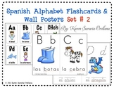 Spanish Alphabet Flashcards & Wall Posters (Bulletin Board