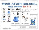 Spanish Alphabet Flashcards & Wall Posters (Bulletin Board