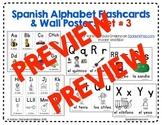 Spanish Alphabet Flashcards & Wall Posters Set 3
