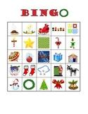 Spanish Christmas Vocabulary Bingo / Bingo de Navidad
