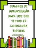 Cuadros de comprensión para literatura ( Comprehension Bo