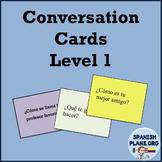 Spanish Conversation Cards - Oral Speaking Activity