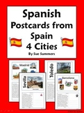 Spanish Culture Postcards from Spain Translations - City,