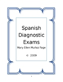 Spanish Diagnostic Exams