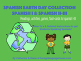 Spanish Earth Day Collection: Grades 7-12