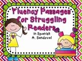 Spanish Fluency Passages for Struggling Readers