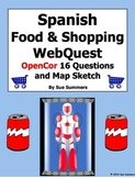 Spanish Food and Shopping WebQuest OpenCor 18 Questions an