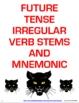 Spanish Future Tense Irregular Verb Signs & Mnemonic