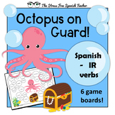 Spanish -IR verbs Review 6 games, present preterit imperfe
