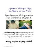 Spanish Imperfect Writing Prompt: Ready to print for Expre