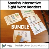Spanish Interactive Sight Word Reader BUNDLE