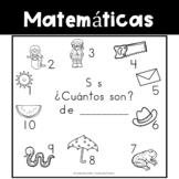 Spanish:  Letter S Counting Book 1-10 / Cuenta con la letra S