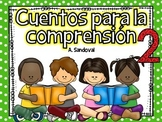Spanish Reading Comprehension Stories #2