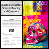Spanish Reading and Questions on Day of the Dead/Día de lo