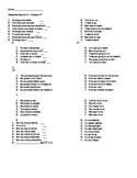 Spanish! Receptive sheet for tener que, ir + a + infinitiv
