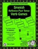 Spanish Reflexive Past Tense Verb Games - Games and Lesson Plans