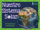 Spanish Solar System PowerPoint and Notes