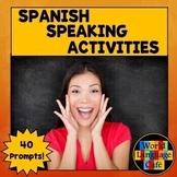 Spanish Speaking Activities, Test, Exam for Midyear, Midte