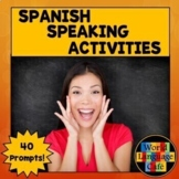 Spanish Speaking Activities, Test, Exam for Final Exams
