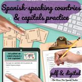 Spanish Speaking Countries Maps, Quizzes, Practice Activit