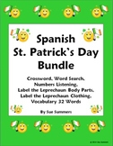Spanish St. Patrick's Day Bundle - Practice, Listening and