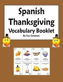 Spanish Thanksgiving Booklet / Accion de Gracias - Elementary