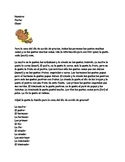Spanish Thanksgiving Vocabulary Logic Puzzle