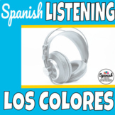 Spanish listening comprehension: colors