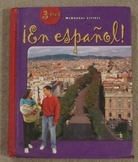 Spanish textbook:  En espanol!  (2004) McDougal Littell