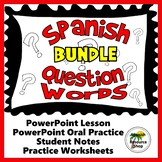 Spanish Question Words Grammar Notes and Practice Powerpoi