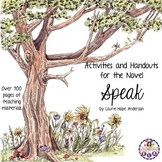 Speak by Laurie Halse Anderson - Activities and Handouts