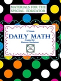 Special Educators Daily Math