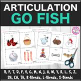 "Speech Therapy: Articulation ""Go Fish"" Decks Bundle ALL SOUNDS"