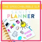 Speech Therapy Organization and Data Binder/Planner