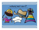 Speech Therapy: Whose Hat Is This? Language Pack