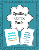Spelling Activity Bundle (Learning Stations AND Activity I