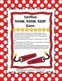 Spelling BOOM, BOOM, BAM! Game