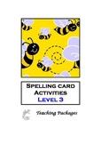 Spelling Card Activities Level 3