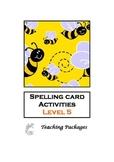 Spelling Card Activities Level 5