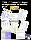 Spelling Curriculum for the Middle Grades