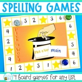 Spelling Activities - 4 spelling games to use with any list