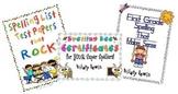 Spelling Resource Bundle-First Grade