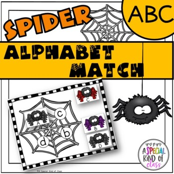 Spider Alphabet Match