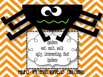 Spider Craft and Poem