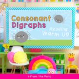 Spider Digraphs - Consonant Digraphs - Smartboard - IWB